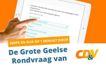 cdenv Geel enquete